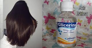 glicerina como usar no cabelo