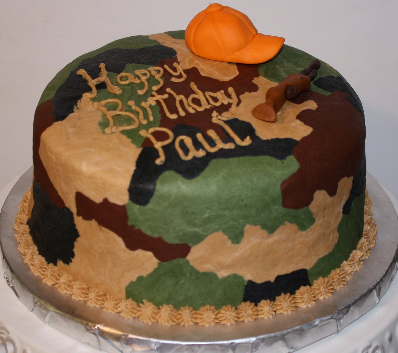 Camo Hunting Cakes For Boys