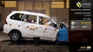 Toyota Avanza dan Daihatsu Xenia Raih Bintang 4 Dari ASEAN NCAP