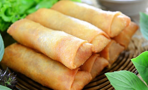 vegetable spring rolls indo chinese recipe