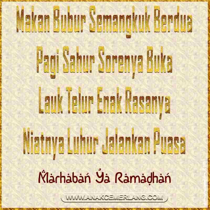 Kumpulan 17 Ucapan Selamat Puasa Ramadhan Lucu Terbaru