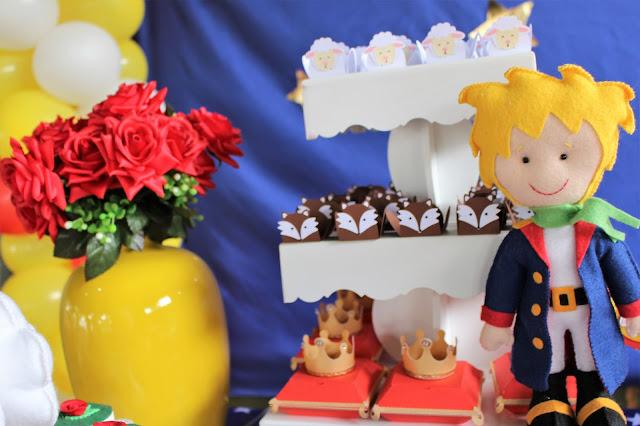 Festa de Aniversário: Tema Pequeno Príncipe