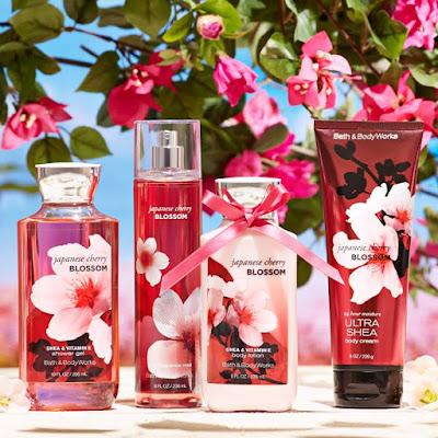 Japanese Cherry Blossom -  באת אנד בודי וורקס בדיוטי פרי