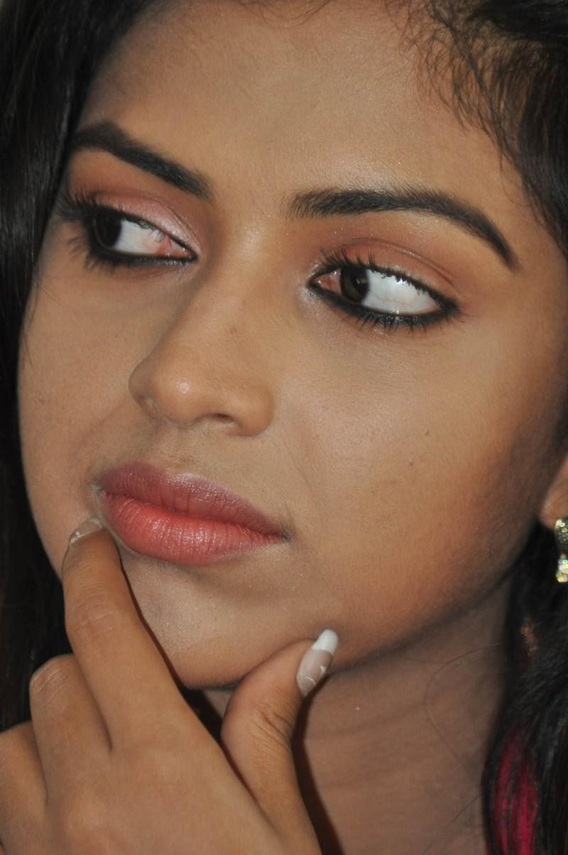 Kollywood Actress Amala Paul Face Close Up Stills