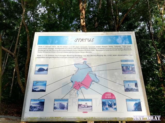 Peta  Rumah Api Tanjung Tuan Port Dickson