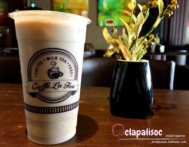 Caffe La Tea Tarlac City Taro Custard Tango