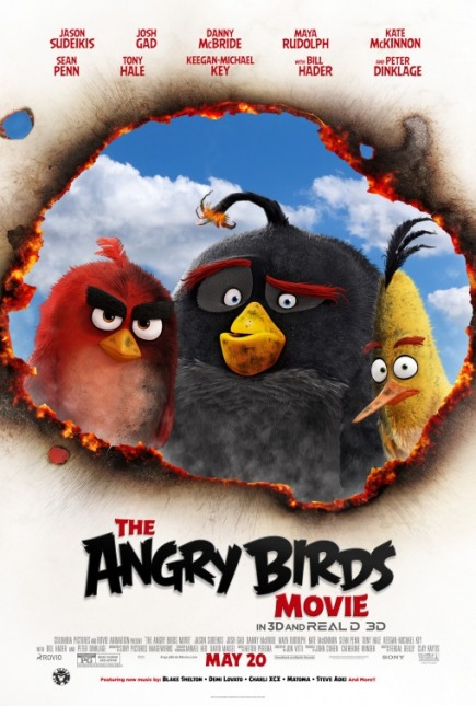 THE ANGRY BIRDS MOVIE (2016) movie review by Glen Tripollo