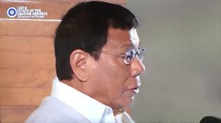 President Rodrigo Duterte  SONA, first SONA