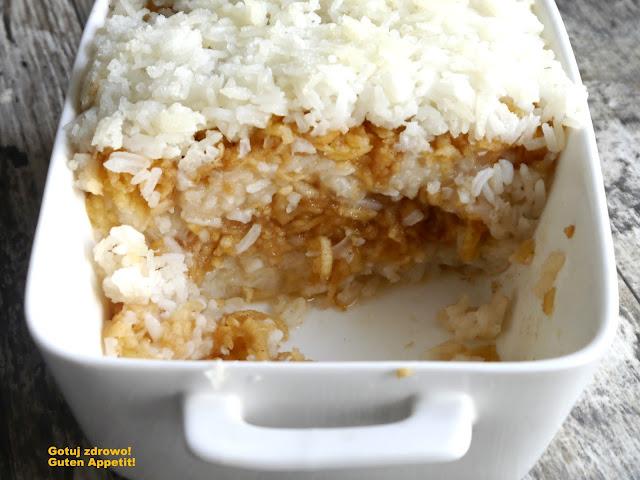 Kokosowy ryż zapiekany z jabłkami i cynamonem - Czytaj więcej »