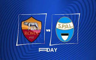 AS Roma vs Spal - Highlights