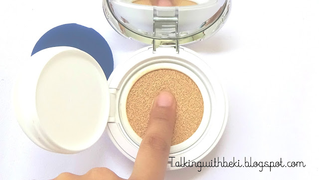 Review The Face Shop CC Cushion Intense Cover Indonesia