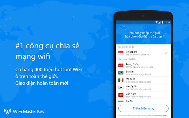 Phần mềm chia sẻ wifi chùa tốt nhất không cần mật khẩu