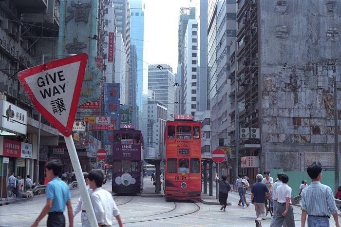Hong Kong, Kowloon, Nathan Road, © L. Gigout, 1990