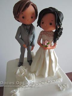bolo noivos personalizados