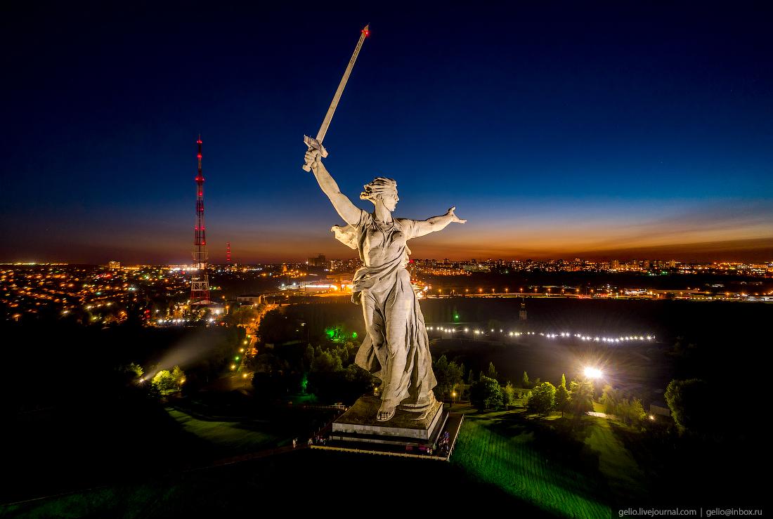 Волгоград: город, возрождённый после войны