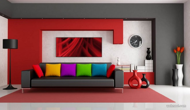 12 red living room wall paint ideas.preview