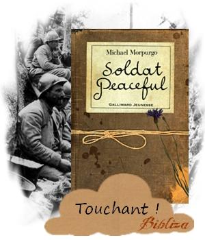 Soldat Peaceful Morpurgo Première Guerre 14-18 anglais Tommo tranchées soldat journal