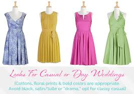 What Colors Can You Wear To A Wedding