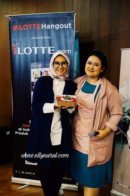 ilottehangout belajar memasak with putri habibie dan heavenly blush