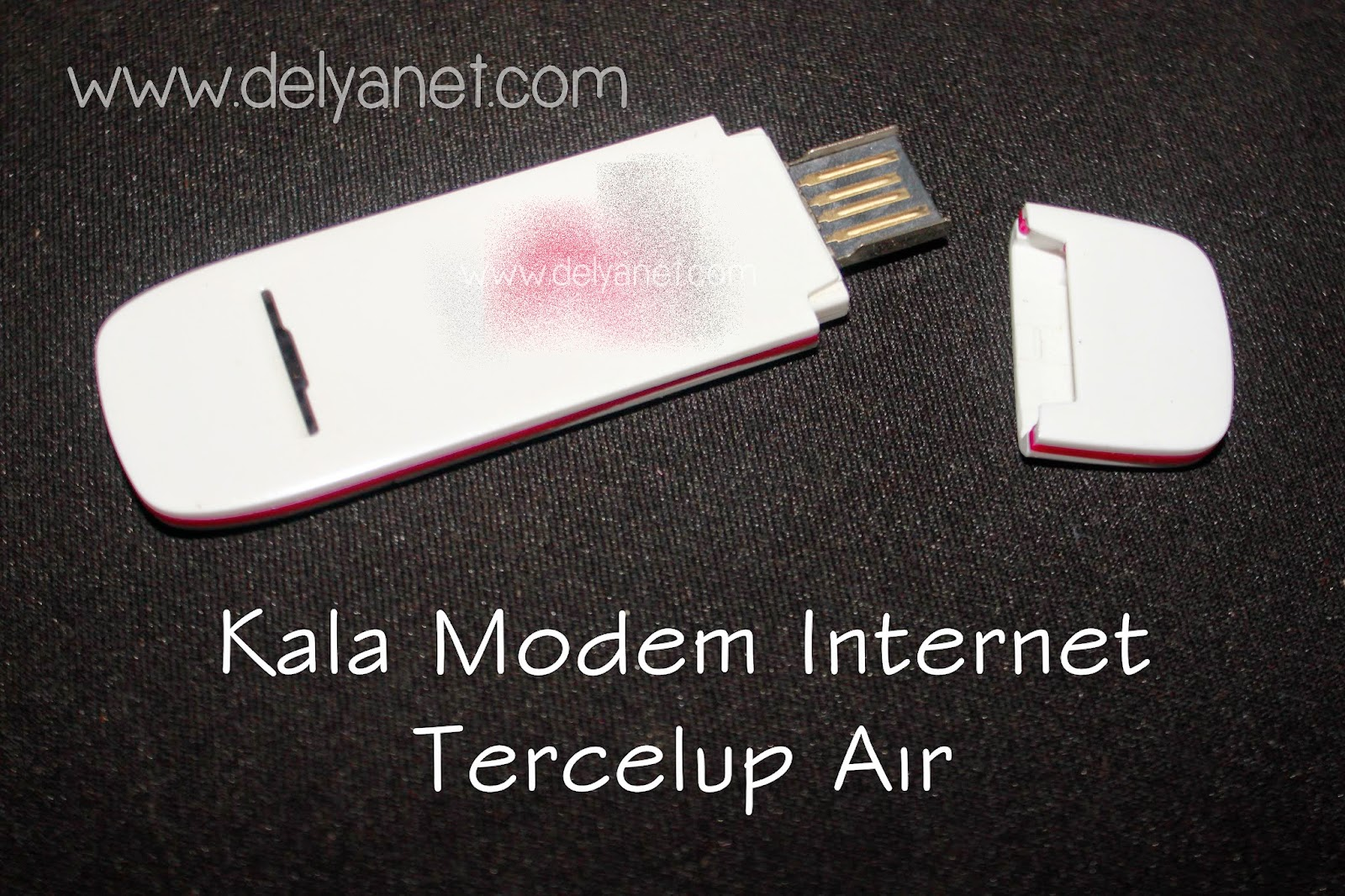 Kala Modem Internet Tercelup Air