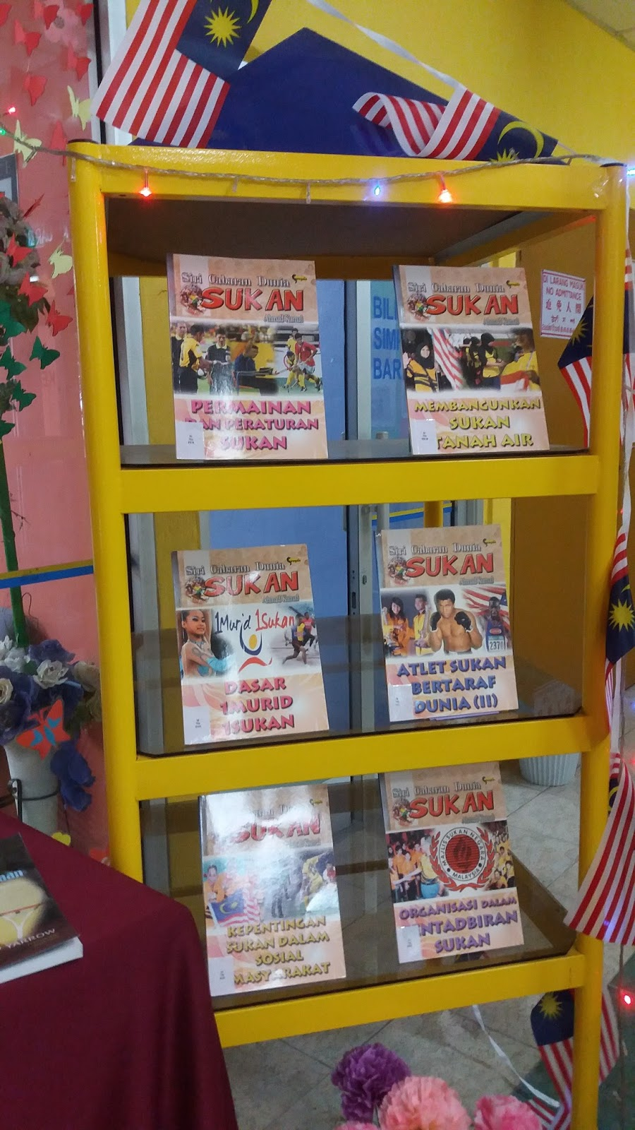 Macam Macam Pameran : macam, pameran, Perpustakaan, Perlis, Cawangan, Simpang, Empar:, Pameran, Bahan, Sukan