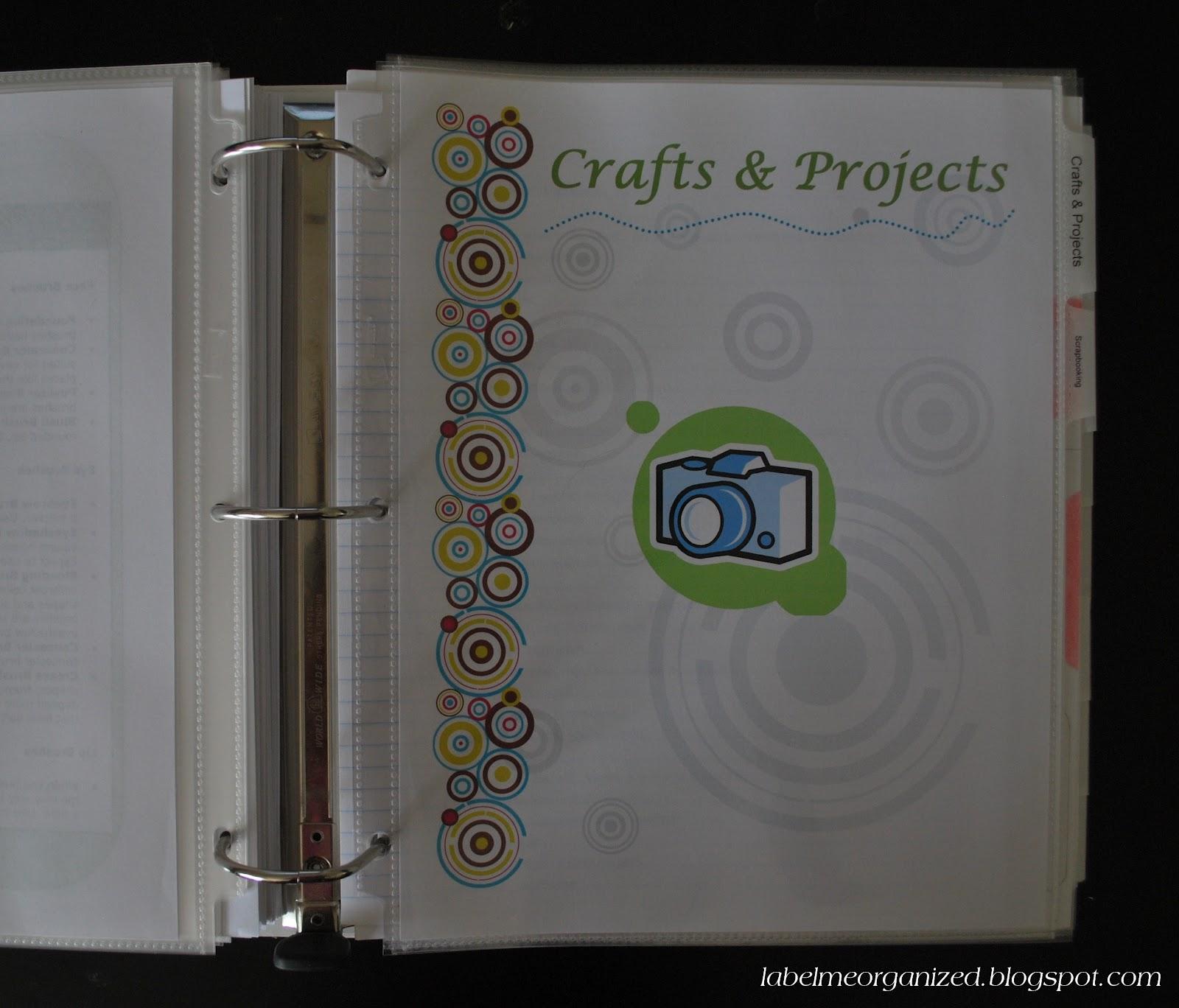 Label Me Organized: Home Management Binder: Introduction