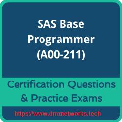 A00-211 SAS Base Programming for SAS (r) 9 Practice Exam