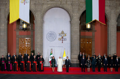 """The World Loves You,"" Mexico chants as it Welcomes the Pope"
