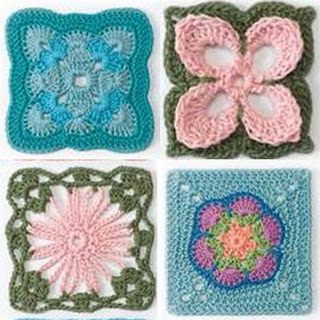 Hubert granny square book margaret
