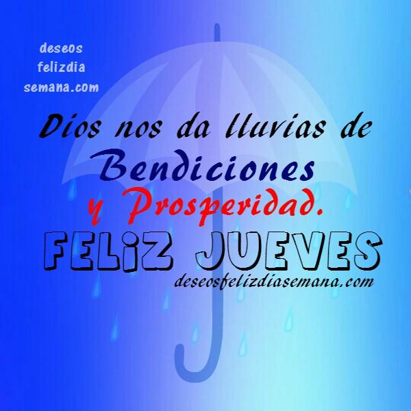 imágenes con bonitas frases y deseos cristianos del jueves para el facebook, mensajes cortos de feliz jueves por Mery Bracho.