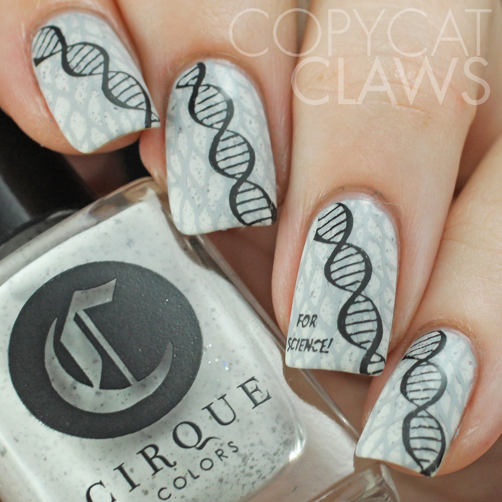 Science Nail Designs: Copycat Claws: 40 Great Nail Art Ideas