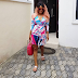 Actress Iyabo Ojo Looks Gorgeous As She Steps Out In Wrap Dress