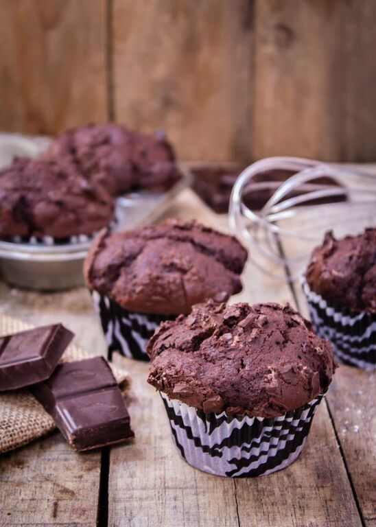 muffins-doble-chocolate