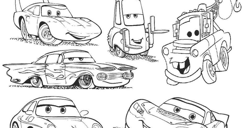 Mewarnai Cars 3 F Warna