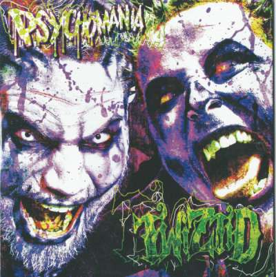 Twiztid - Psychomania (EP) - Album Download, Itunes Cover, Official Cover, Album CD Cover Art, Tracklist