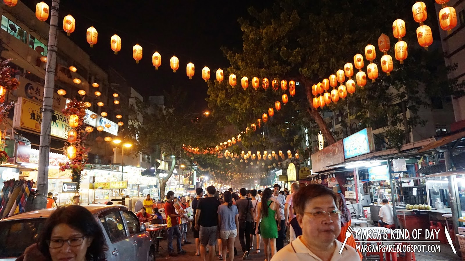 Wisata kuliner di Jalan Alor Kuala Lumpur