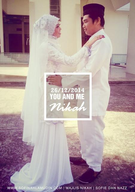 Anniversary perkahwinan kami ke 3 tahun - Sofinah Lamudin