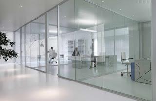 Tipos de acristalamientos interiores