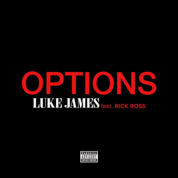 Luke James - Options (feat. Rick Ross) - Single  Cover