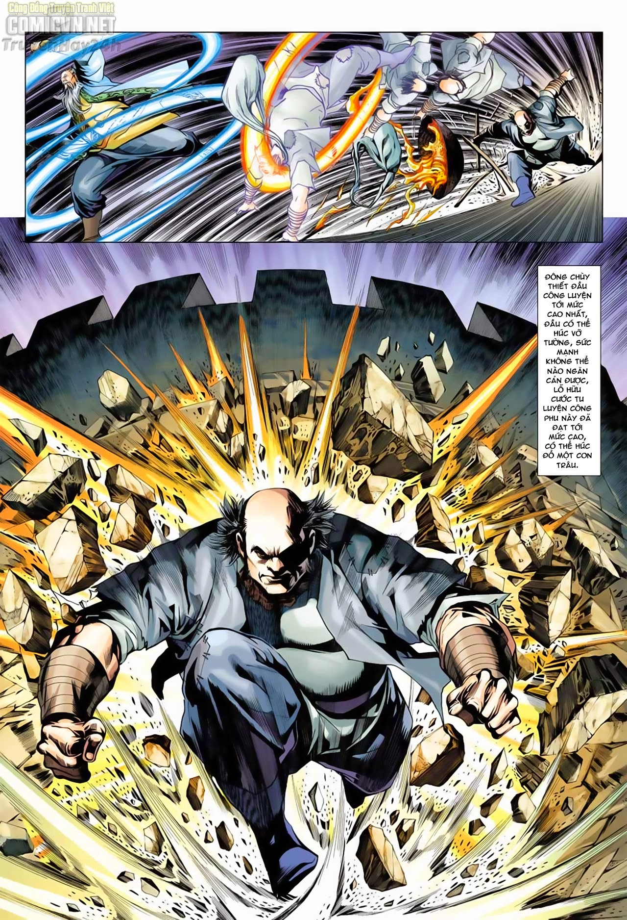 Anh Hùng Xạ Điêu anh hùng xạ đêu chap 66: nhạc châu đại hội trang 27