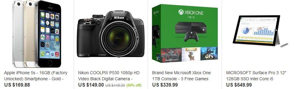 eBay-Shop Top Electronics Deals