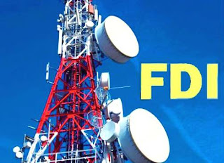 fdi in telecom news in hindi