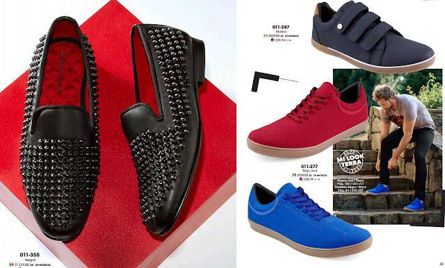 Catalogo Mundo Terra zapatos caballeros Primavera verano 2018
