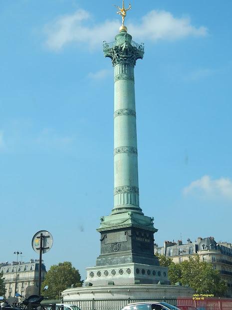 Paris - Place De La Bastille And July Column Jaho Jalal