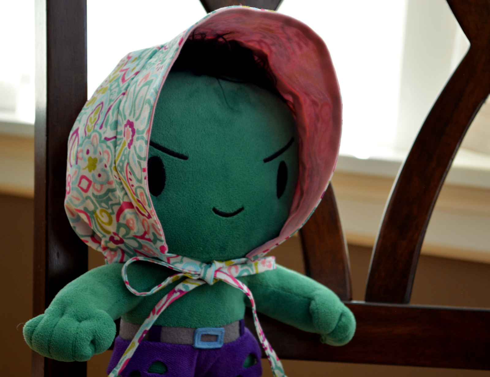 cozy birdhouse | baby bonnet