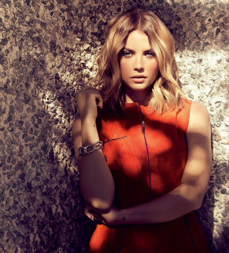 ashley benson sexy photo shoot ocean drive magazine