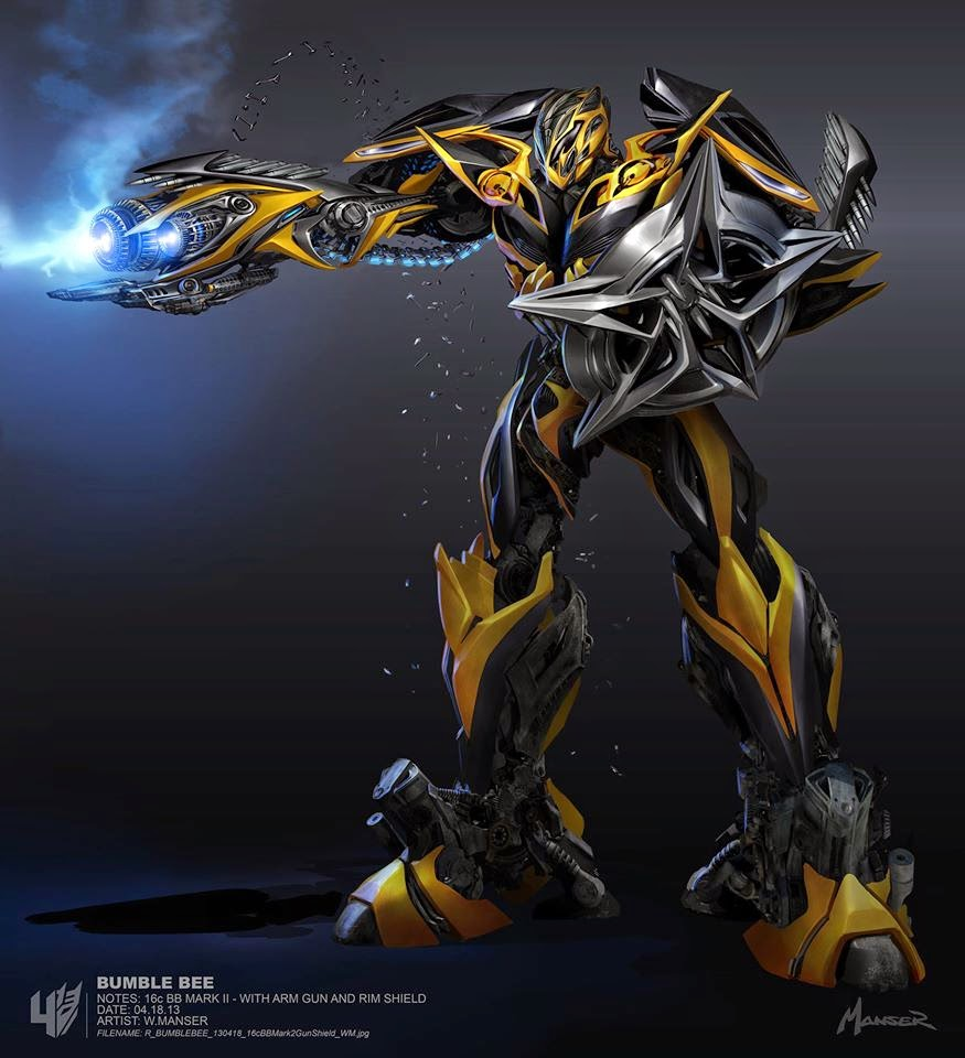 Bangin' TRANSFORMERS: AGE OF EXTINCTION Bumblebee Concept ...