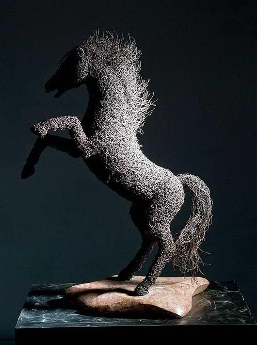 kuda dari kawat