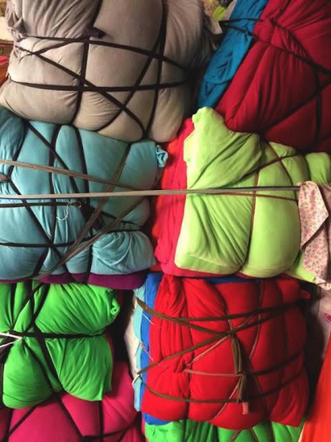 hình ảnh vải khúc thun cotton màu 2 chiều giá rẻ