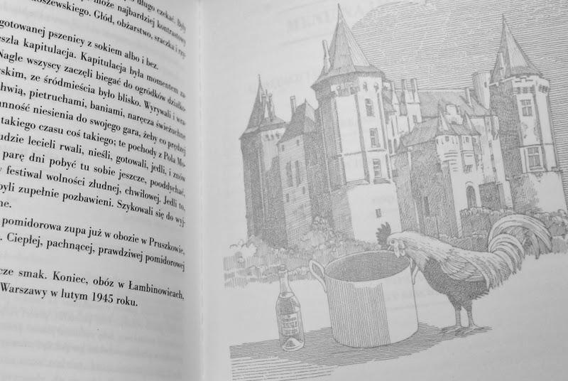 Fragment tekstu oraz rewers ilustracji